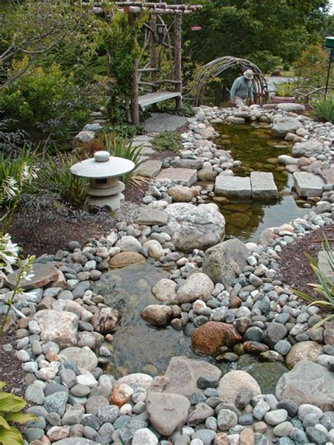 Rock Garden Bed 32 Best Images About Gardens Rock Beds On Gardens Landscapes And Creek Bed