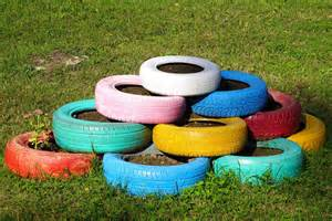 Tire Flower Garden 29 Flower Tire Planter Ideas For Your Yard And Home Home Stratosphere