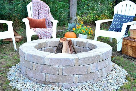 how to make a firepit how to build a pit hgtv