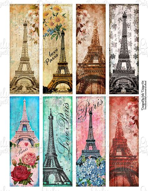 printable paris bookmarks paris bookmarks printable bookmarks digital tags