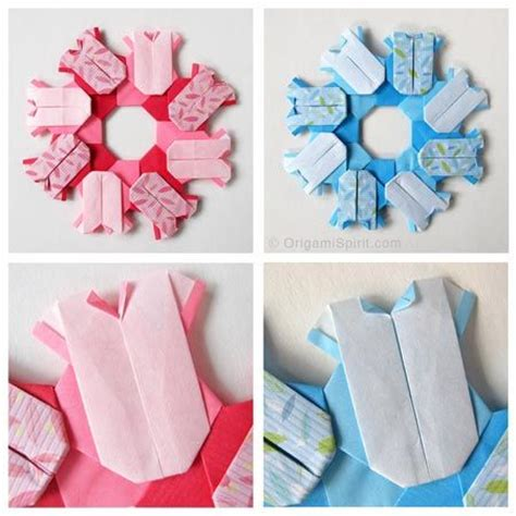 Baby Origami - 1000 images about origami wreath on