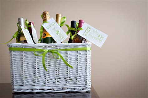 Wedding Gift Ideas Wine by Bridal Shower Gift Wine Basket Poem Tutorial Free