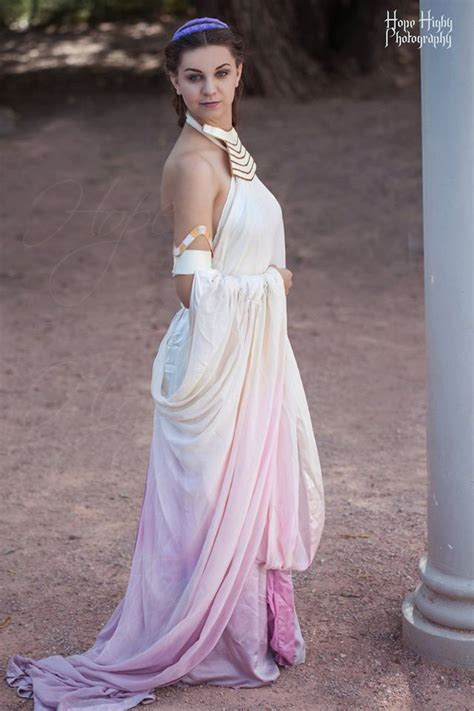 Padme Amidala Lake Gown Cosplay from Star Wars Episode II: