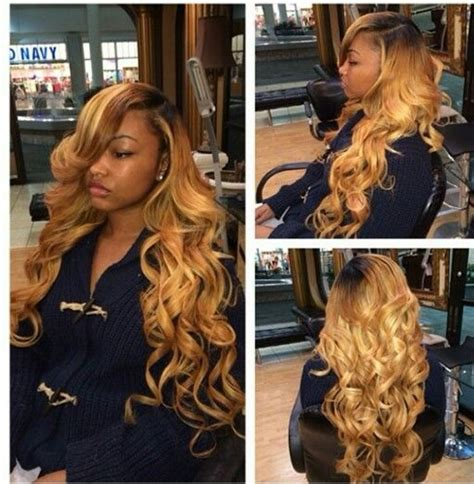 sew in bobs hairstyles in auburn colors beautiful malaysian remy ombre wave curls full lace wig 26