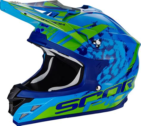 scorpion motocross helmets scorpion vx 15 air kistune cross helmet motorcycle