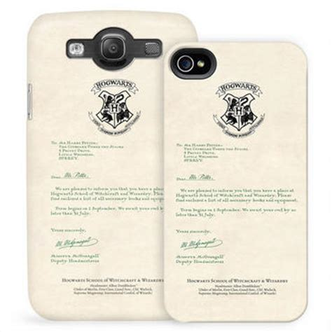 Hogwarts Acceptance Letter Black 10 Coolest Iphone Cases That Would Make Great Gifts Wiproo