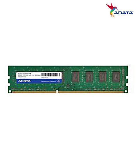 Ram Adata Ddr3 4gb adata ddr3 4gb dram desktop buy adata ddr3 4gb dram desktop at low price in india