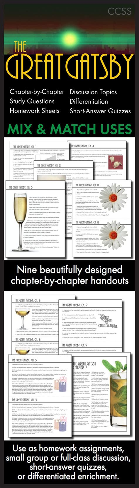 themes of great gatsby chapter 4 100 declaration of 32 best teaching the great gatsby images on pinterest