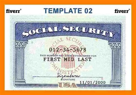 editable social security card template pretty ssn card template pictures gt gt social security card psd buy usa id documents social
