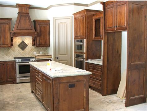 alder wood kitchen cabinets knotty alder kitchen cabinets home at last pinterest