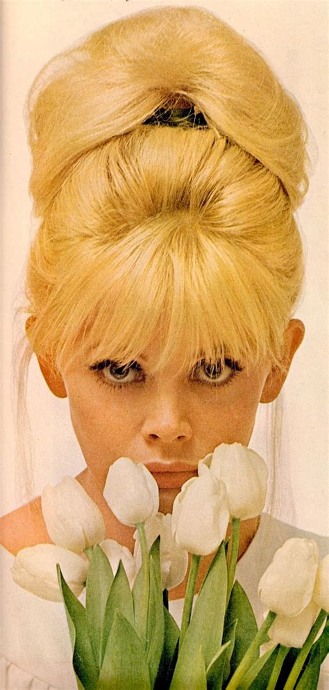 How To Do A Britt Eckland Beehive | britt ekland bouffant 60 s do quot there s something about a