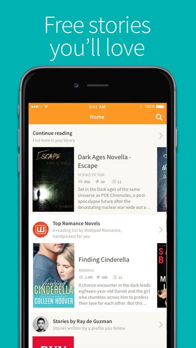 wattpad ebook reading wattpad free books and ebook reader apprecs