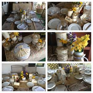 Country Wedding Shower Ideas by Country Chic Bridal Shower Ideas