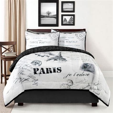 black and white paris bedroom paris bedding find beautiful paris eiffel tower damask