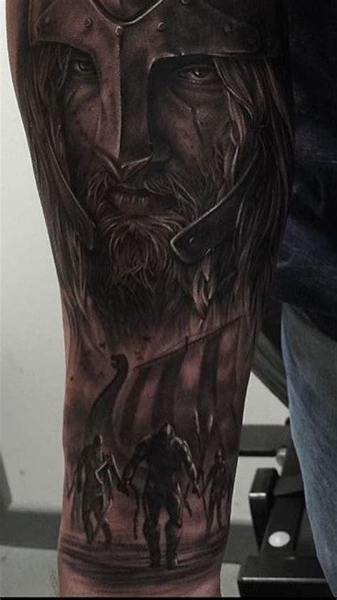 viking sleeve tattoos the start of my sleeve so far vikings nordic