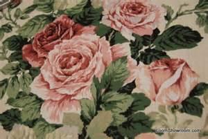 Drapery Fabric By The Yard 4 5 Yard Piece Classic English Glazed Cotton Chintz Fabric