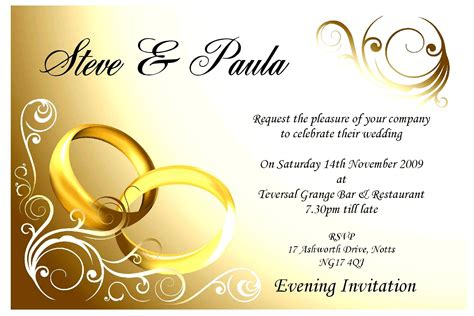 Wedding Invitation Card Design Free by Invitation Card Design Template Various Invitation Card