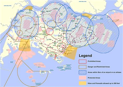 fly zone singapore mavic pro singapore