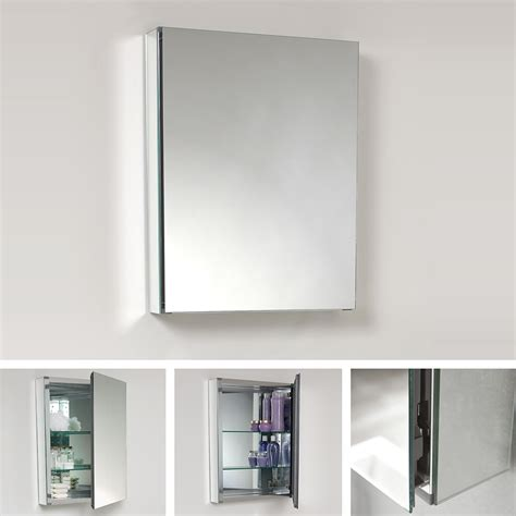 Wide Bathroom Mirror Fresca 20 Quot Wide Bathroom Medicine Cabinet W Mirrors Fmc8058 Monman Lighting Bath