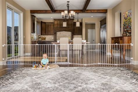walk through dog gates for the house best dog gates for the house