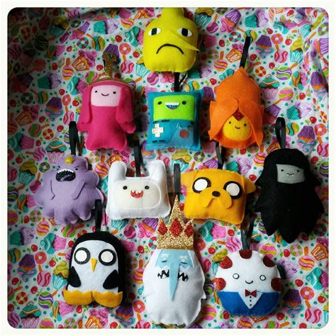 adventure time christmas ornaments by tiffyyycuppycake on