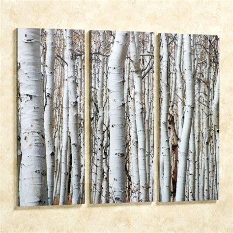 wall painting trees2018 birch tree canvas painting defendbigbird