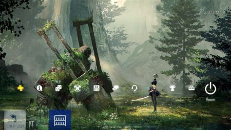 ps4 themes for pc nier automata forest theme ps4 playstation 4 youtube