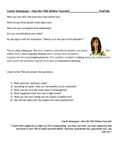ted talk worksheet answers 322 free character and personality worksheets