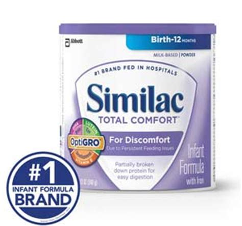similac total comfort reflux com similac total comfort infant formula with iron