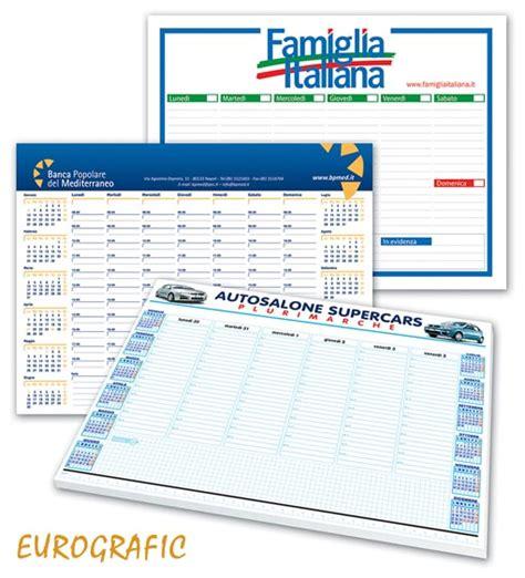planning da scrivania planning da tavolo personalizzati 2018 eurografic