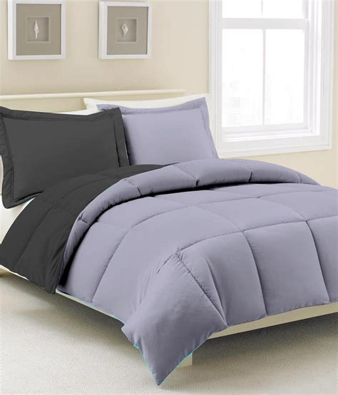 plain grey comforter kiaana gray plain polyester comforter buy kiaana gray