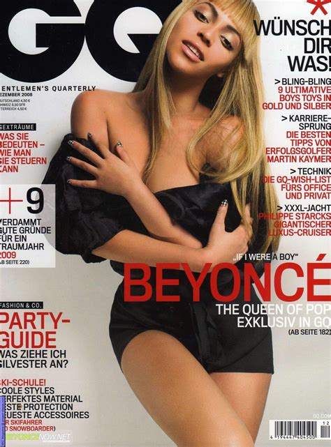 Beyonce On The Cover Of by Beyonce On Gq Magazine Trueclefmusic