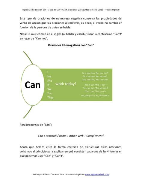 oraciones preguntas con will 1 9 el verbo defectivo can en preguntas y oraciones