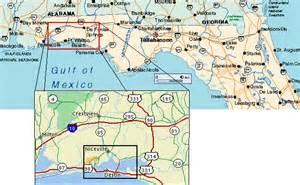 nw florida map northwest florida beaches map