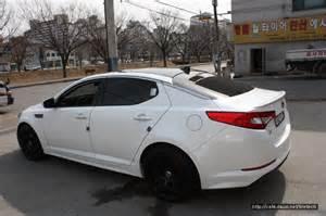 kia optima k5 white hre p40 black 2 rides styling
