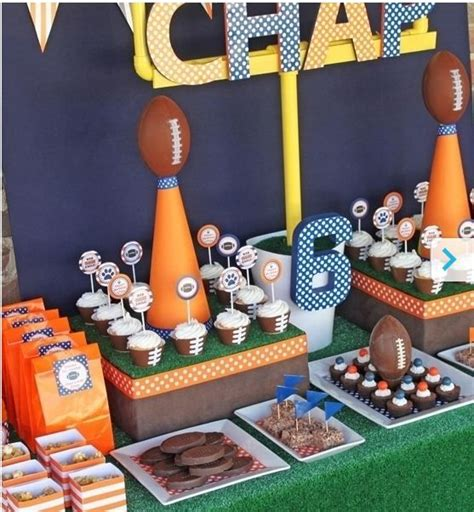 themes football com 22 best images about sports themed birthday party on