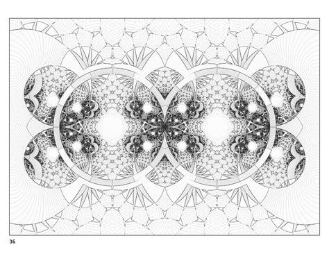 fractal coloring book fractal coloring book