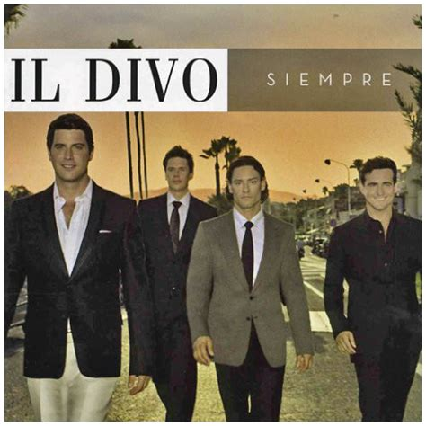 il divo album il divo siempre cd album at discogs