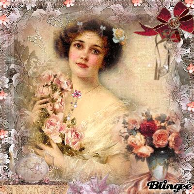 imagenes vintage bonitas papirolas coloridas hermosas damas vintage