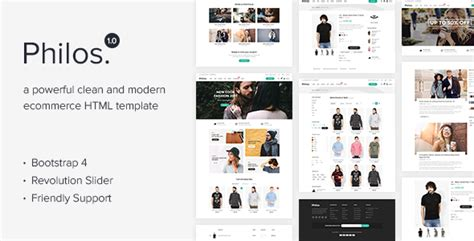 themeforest ecommerce html template philos responsive ecommerce html template nulled download