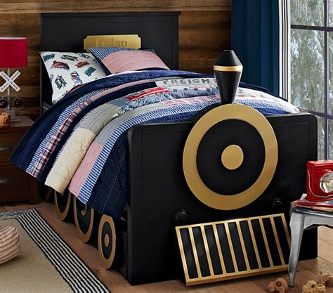 kids train bed train bed pottery barn kids