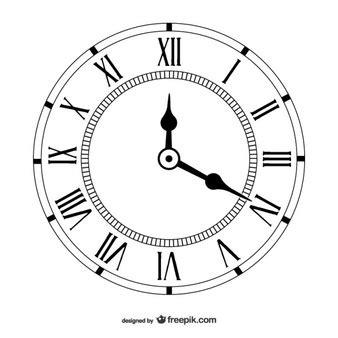 clock template corel runde uhr vektoren fotos und psd dateien kostenloser