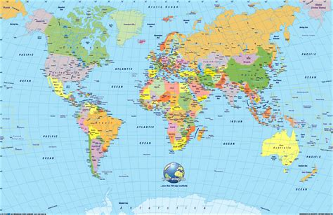 printable maps of the world world maps with countries continent seven continents