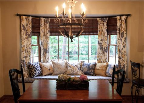 Curtains On Windows With Blinds Inspiration Get Inspired Window Treatment Ideas For Bay Windows Kavanaugh Blind Shade Shutter Co