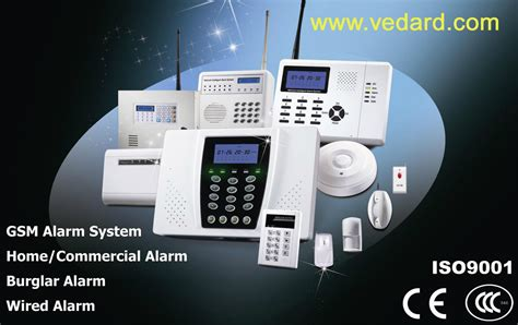 wholesale and retail wireless security alarm system lcd