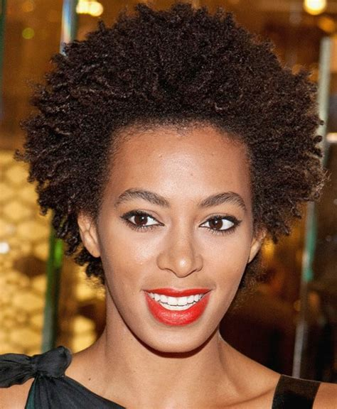 short natural hairstyles for women over 50 natural hairstyles for black women over 50 solange