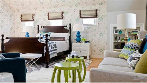 blue and green master bedroom lime green and blue modern bedroom decorating ideas