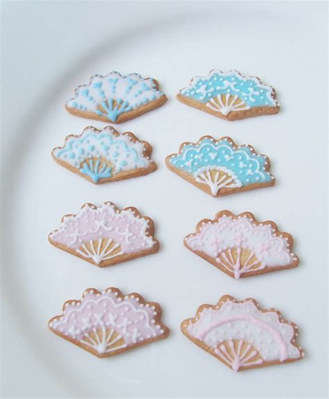 Cookies Fans antoinette fan cookies by snowfern on deviantart