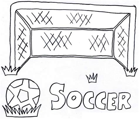 Free Printable Soccer Coloring Pages free printable soccer coloring pages for