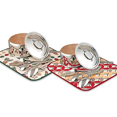 the original designer dish drying mat bed bath beyond